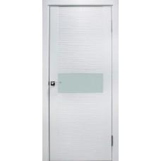 Дверь эмаль ZADOOR D2 Техно ДО эмаль белая