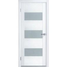 Дверь эмаль ZADOOR D3 Бриз ДО эмаль белая