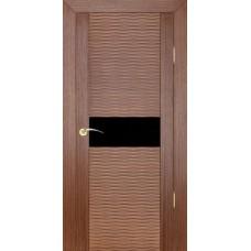 Дверь шпонированная ZADOOR D2 Бриз ДО(Ч) орех