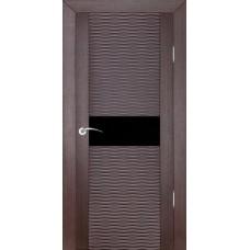 Дверь шпонированная ZADOOR D2 Бриз ДО(Ч) венге