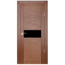 Дверь шпонированная ZADOOR D2 Техно ДО(Ч) орех