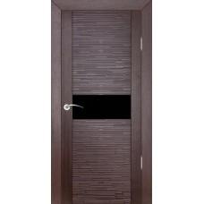 Дверь шпонированная ZADOOR D2 Техно ДО(Ч) венге
