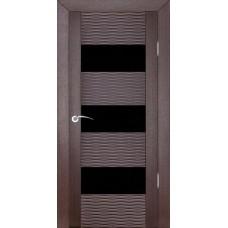 Дверь шпонированная ZADOOR D3 Бриз ДО(Ч) венге