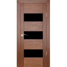 Дверь шпонированная ZADOOR D3 Техно ДО(Ч) орех