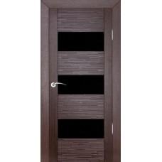 Дверь шпонированная ZADOOR D3 Техно ДО(Ч) венге