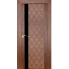 Дверь шпонированная ZADOOR D4 Бриз ДО(Ч) орех