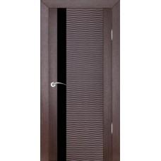 Дверь шпонированная ZADOOR D4 Бриз ДО(Ч) венге