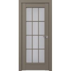 Дверь экошпон ZADOOR Classic S Неаполь ДО Матовый серый