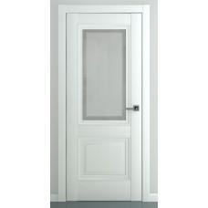 Межкомнатная дверь ZADOOR ПО Венеция B2 Baguette Classic Матовый белый