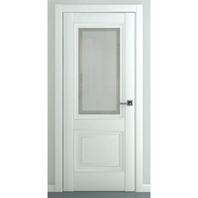 Дверь ZADOOR Остекленная Венеция B3 Baguette Classic Матовый белый