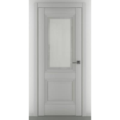 Дверь ZADOOR Остекленная Венеция B3 Baguette Classic Матовый графит
