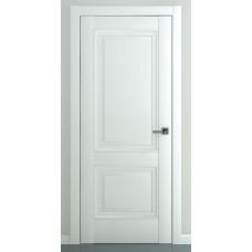 Межкомнатная дверь ZADOOR ПГ Венеция B3 Baguette Classic Матовый белый