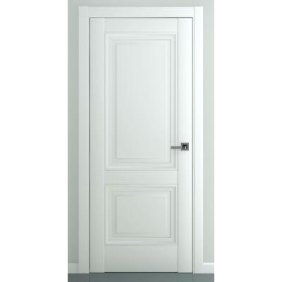Дверь ZADOOR ПГ Венеция B3 Baguette Classic Матовый белый