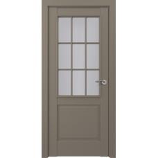 Дверь экошпон ZADOOR Classic S Ампир ДО Матовый серый