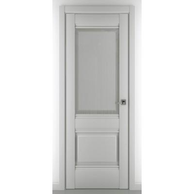 Дверь ZADOOR Остекленная Венеция B4 Baguette Classic Матовый графит