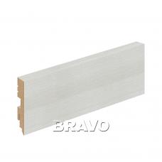 Плинтус напольный BRAVO Тип-0 Bianco Veralinga
