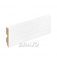 Плинтус напольный BRAVO Тип-0 Snow Veralinga