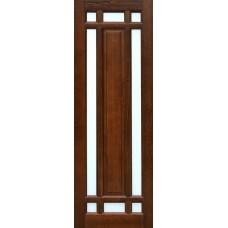 Дверь массив ольхи Рубин Альпина ДЧ Махагон