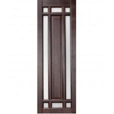 Дверь массив ольхи Рубин Альпина ДЧ Венге