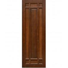 Дверь массив ольхи Рубин Альпина ДГ Махагон