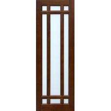 Дверь массив ольхи Рубин Альпина ДО Махагон