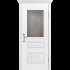 Дверь BP-DOORS Трио В1 ДО2 Эмаль белая