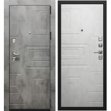 Дверь входная Verda Фортуна New Темный бетон/ Светлый бетон