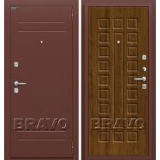 Дверь входная BRAVO Optim Нова Антик Медь / П-26 Французский дуб