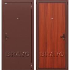 Дверь входная BRAVO Optim Билд Антик Медь / М-11 Итальянский орех