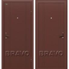Дверь входная BRAVO Optim Door Out 101 Антик Медь / Антик Медь