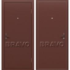 Дверь входная BRAVO Optim Стройгост РФ 5-1 Антик Медь / Антик Медь