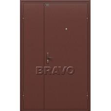 Дверь входная BRAVO Optim Дуо Слим Антик Медь / Антик Медь