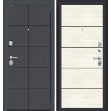 Дверь входная BRAVO Porta S 10.П50 Graphite Pro / Nordic Oak
