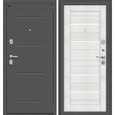 Дверь входная BRAVO Porta S 104.П22 Антик Серебро / Bianco Veralinga