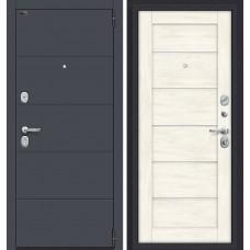 Дверь входная BRAVO Porta S 4.Л22 Graphite Pro / Nordic Oak