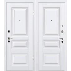 Дверь входная МеталЮр М11 Белый / Белый