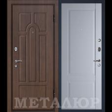 Дверь входная МеталЮр М12 Венге / Манхэттен