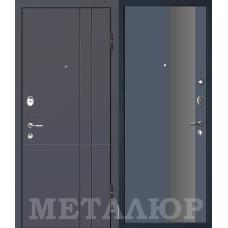 Дверь входная МеталЮр М16 Антрацит / Антрацит