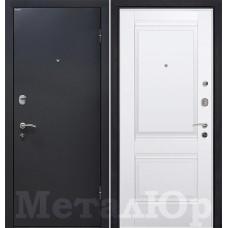Дверь входная МеталЮр М41 Черный шелк / Аляска