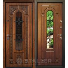 Дверь входная STALLER Лацио Дуб золотой / Дуб золотой