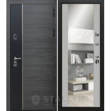 Дверь входная STALLER Стило Венге серый / Манхэттен