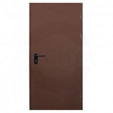 Дверь противопожарная VALBERG EI-60 Коричневый RAL 8017
