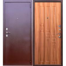 Дверь входная Verda Гарда 8 мм Антик Медь / Дуб рустикальный