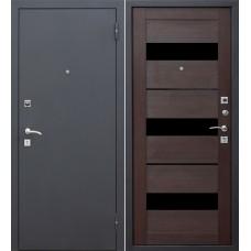 Дверь входная Verda Гарда Черный Муар / Кипарис