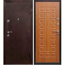Дверь входная Verda Йошкар Антик Медь / Золотистый дуб