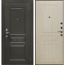 Дверь входная Verda SD Prof-10 Троя Венге / Дуб светлый