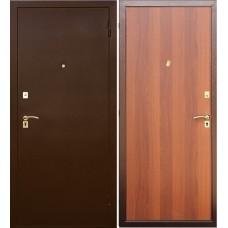 Дверь входная Verda SD Prof-2 Стандарт Антик Медь / Итальянский орех