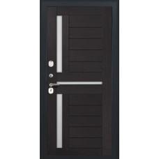 Дверь входная Luxor 36 черный муар