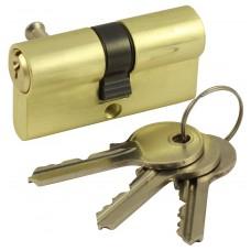 Механизм цилиндровый Vantage V 60-5 SB матовое золото