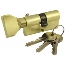Механизм цилиндровый Vantage VC 60-5 SB матовое золото